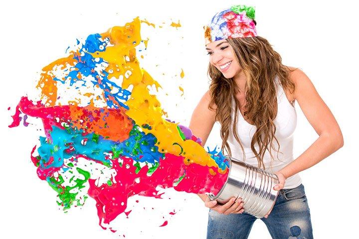 Paint splash - About us, Boneida Print